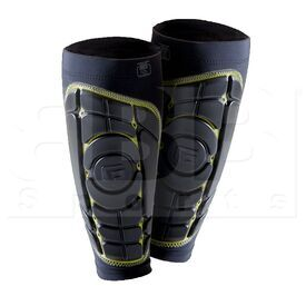 AASP05B G-Form Pro-S Soccer Elite Shin Guard Black/Yellow