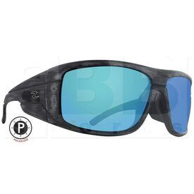 ZZ-EY-PL-BAC-WB-BL Zol Polarized Sunglasses w/ Blue Lens