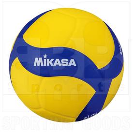 Mikasa V430W Volleyball Ball Yellow/Blue Size 4
