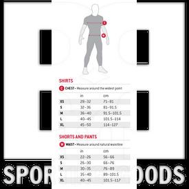 SN010201 G-Form Camisa Pro con Proteccion de Pecho para Adulto Negro
