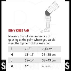 KP070201 G-Form Envy Knee Pads Black
