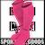 400054.030.L Joma Medias Classic 2 Rosa Flúor