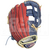 """ST1152-FPRNS Tamanaco ST-Series Puerto Rico Edition Natural Leather Infield Glove 11.5"""" Navy/Scarlet RHT"""