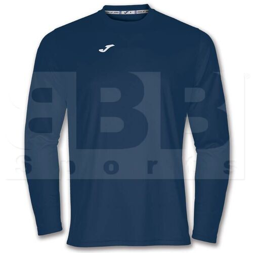 100092.331 Joma Camisa de Manga Larga Combi Azul Marino
