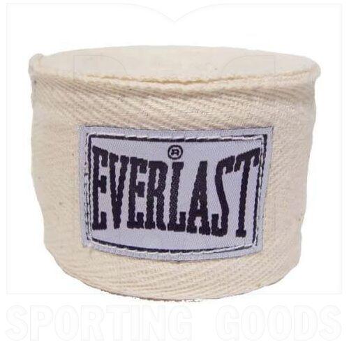 """4455NAT Everlast Venda de Mano para Boxeo 120"""" Natural"""