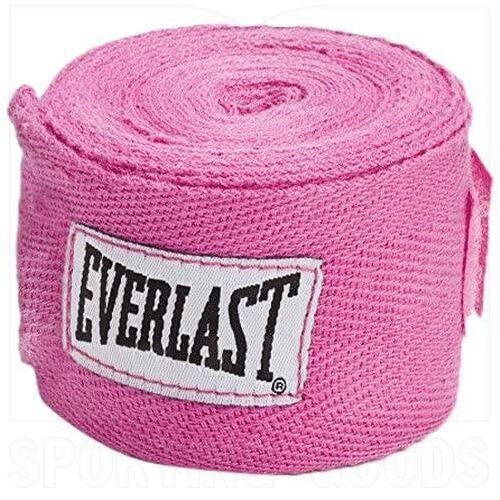 "4455PK Everlast Venda de Mano para Boxeo 120"" Rosa"