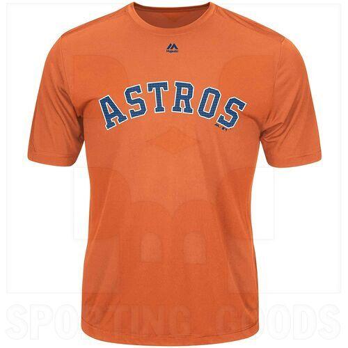 G223-3253-HUS-TLJ-S Majestic Camisa MLB Houston Astros Evolution