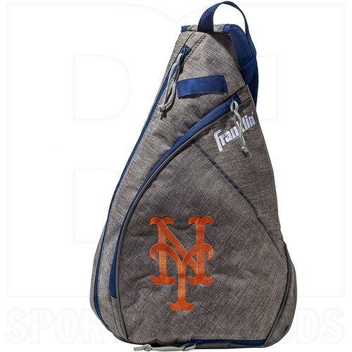 76042-NYM Franklin Sports Bulto de Béisbol MLB New York Mets