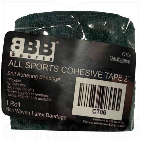 "CT06 BBB Sports Cinta Cohesiva Atlética y Deportiva 2"" Verde"