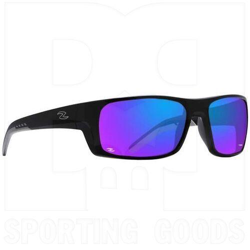 ZZ-EY-UV-DEEP-BK-BL Zol Sunglasses Deepfish Black W/Blue Lens