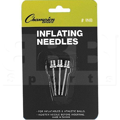 INB Champion Inflating Needles Retail Pack (3 Each Pack)