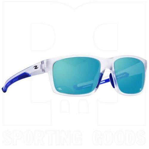 ZZ-EY-PL-SALT-CL-BL Zol Salt Polarized Sunglasses Clear w/ Blue Lens