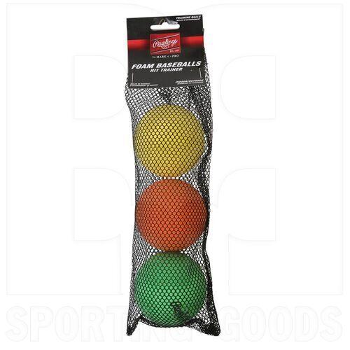 HITTRAIN Rawlings Hit Training Balls (3 Pack)