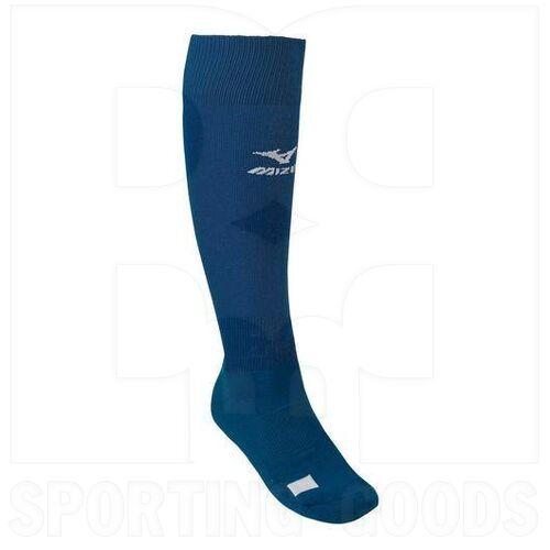 370143.5151 Mizuno Medias Performance Fastpitch G2 para Béisbol/Softbol Azul Marino