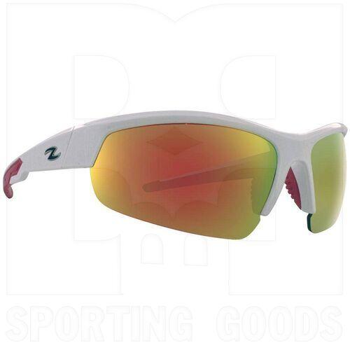ZZ-EY-UV-TOUR-WH-RD Zol Gafas de Sol Tour Blanca con Lente Rojo