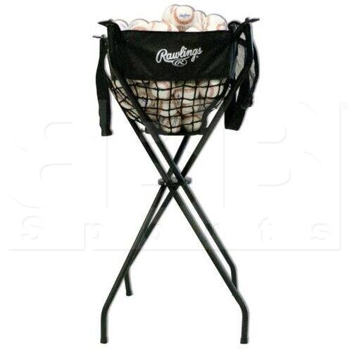 BCADDY Rawlings Ball Caddy Baseball/softball Black