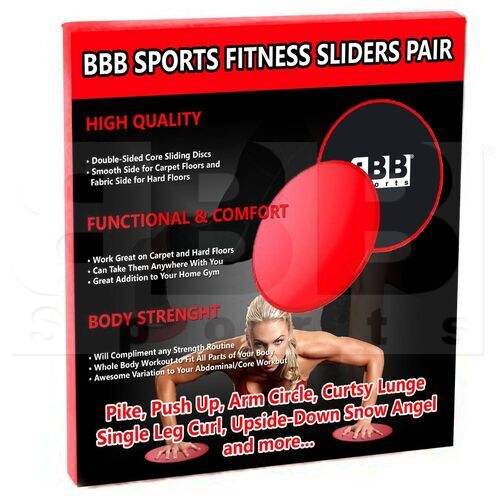 BFS01 BBB Sports Discos Planos de Ejercicio (Par)