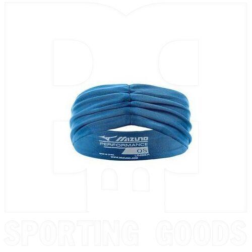 440700.5X5X.10.O Mizuno April Ross Vantage Headband Blue