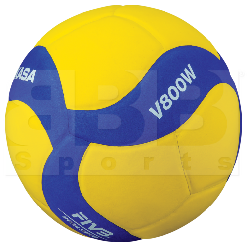 V800W Mikasa Soft Touch Volleyball 5