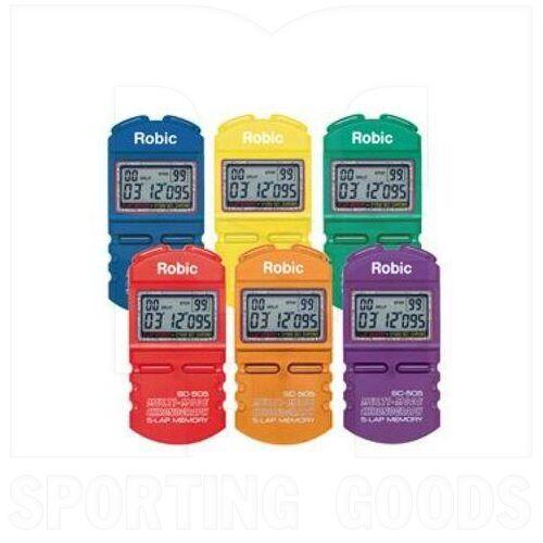 SC-505 Robic 12 Cronómetro de Memoria Color Aleatorio (Unidad)