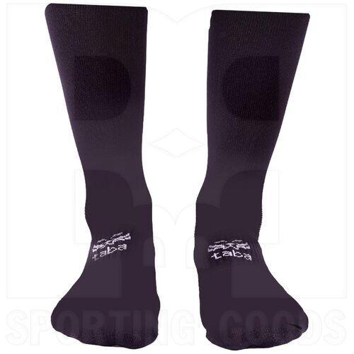 TBKS Taba Adult Black Socks One Size