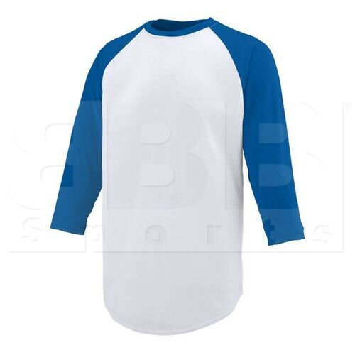 1505.220.2XL Augusta Nova Wicking Jersey With Pinhole Mesh 3/4 Sleeves White/Royal