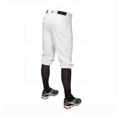 KNIA-WH-XL Easton Pro Baseball/Softball Knee Pant White