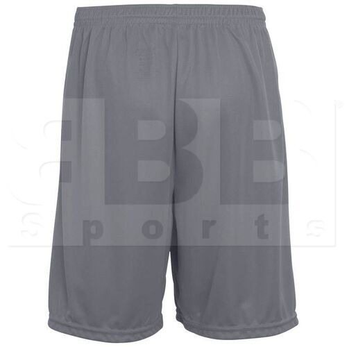 1420.059.S Augusta Training Short w/ Covered Elastic Waistband Drawcord Inside Graphite