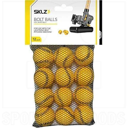 0244 SKLZ Bola Bolt - Paquete de 12