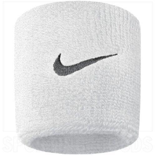 AC0009-101 Nike Swoosh Pulseras de Sudor Blanca