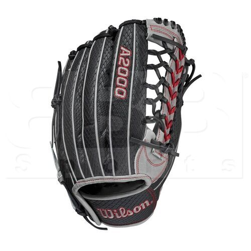 "WBW1001101225 Wilson A2000 Pedroia Fit Baseball Outfield Glove 12.25"" RHT"