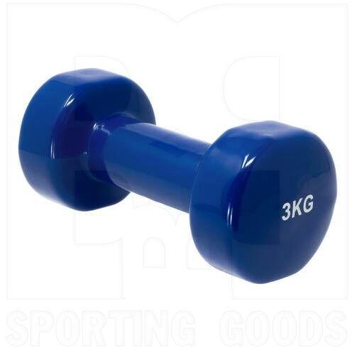 IR92005-3KG Tamanaco Fitness Vinyl Dumbbell 3 Kg / 6.6 Lb Single
