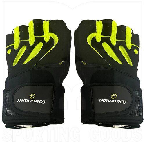 SB-16-1063-FGL Tamanaco Fitness Glove BFG Black/Yellow Neon