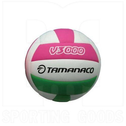 V3000-WPG Tamanaco V3000 Volleyball 5 White/Green/Pink