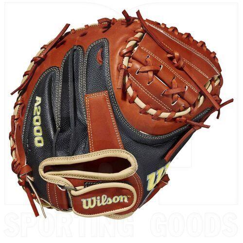"""WBW10011834 Wilson A2000 1790SS Guante de Béisbol para Receptor de 34"""" RHT"""