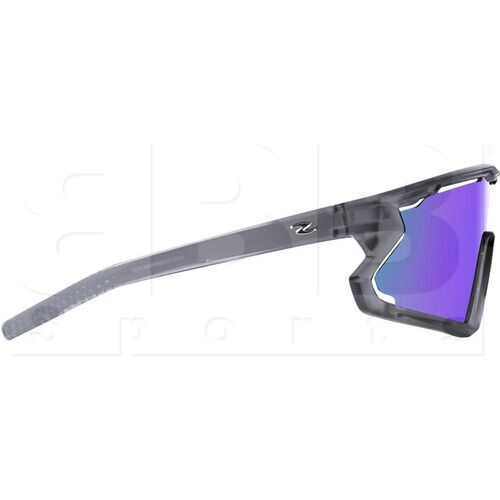 ZZ-EY-UV-BREAK-FGR-BL Zol Breakaway Sunglasses Grey w/ Blue Lens