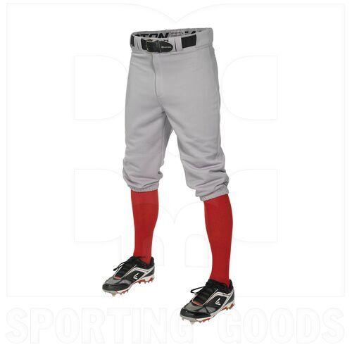 KNIA-GR-L Easton Pro Baseball/Softball Knee Pants White