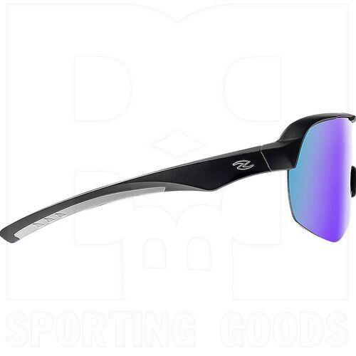 ZZ-EY-UV-GRAND-BK-BL Zol Gafas de Sol Grand Prix Negras con Lente Negro