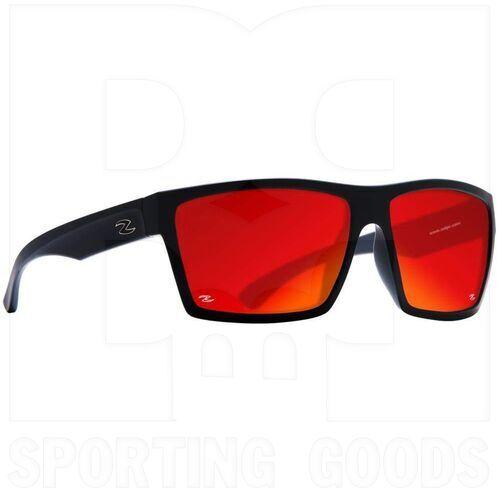 ZZ-EY-PL-TRIP-BK-RD Zol Trip Polarized Sunglasses Black w/ Red Lens