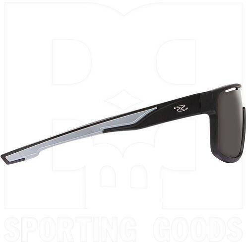 ZZ-EY-UV-ECLIP-BK-SMK Zol Eclipse Black Sunglasses w/ Smoke Lens