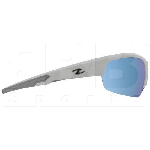 ZZ-EY-UV-TOUR-WH-BL Zol Tour Sunglasses White w/ Blue Lens