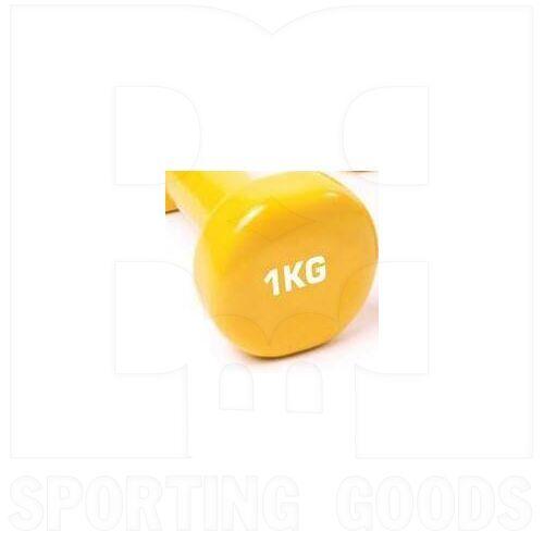IR92005-1KG Tamanaco Fitness Vinyl Dumbbell 1 Kg / 2.2 Lb Single