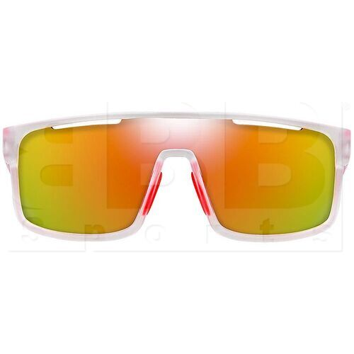 ZZ-EY-UV-ECLIP-FR-RD Zol Eclipse Frosted Sunglasses w/ Red Lens