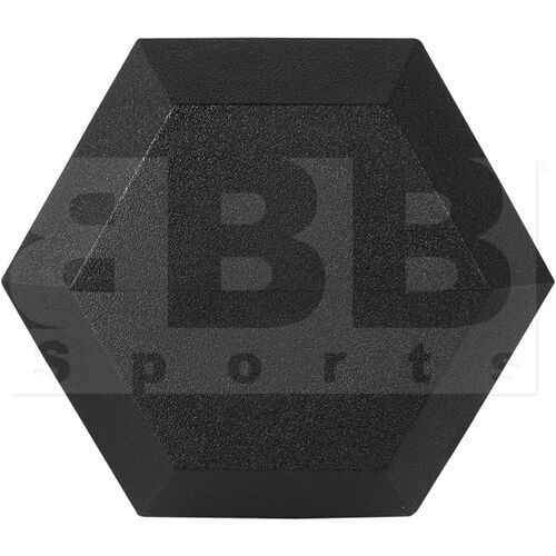 IR92022-30LB Tamanaco Rubber Hexagonal Dumbell 30 LBS (Single)