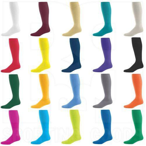 328030.005.L High Five Athletic Knee-Length Socks Pair White