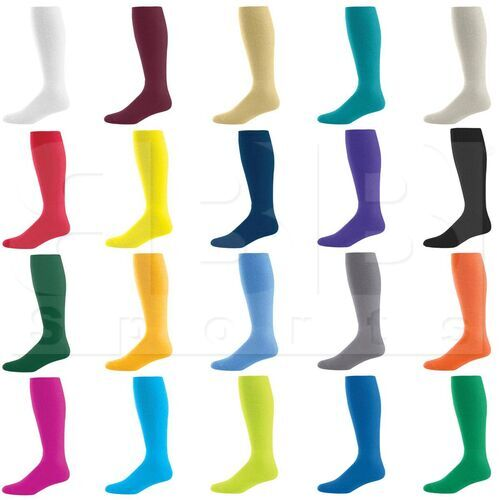 328030.035.L High Five Athletic Knee-Length Socks Pair Dark Green