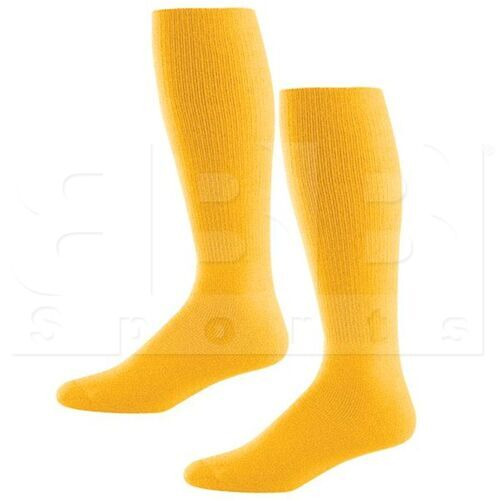 328030.595.L High Five Athletic Knee-Length Socks Pair Gold
