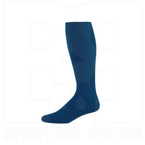 328030.065.L High Five Athletic Knee-Length Socks Pair Navy