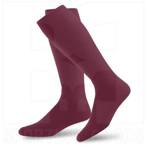 SK1-MR Champion Athletic Multi Sports Socks Maroon (Pair)