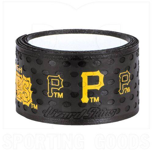 DSPBW1PIT Lizard Skins 1.1mm Pittsburgh Pirates Bat Grip Black/Yellow